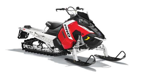 "2016 Polaris 800 Pro-RMK 163 3"" SnowCheck Select in Lake Mills, Iowa"