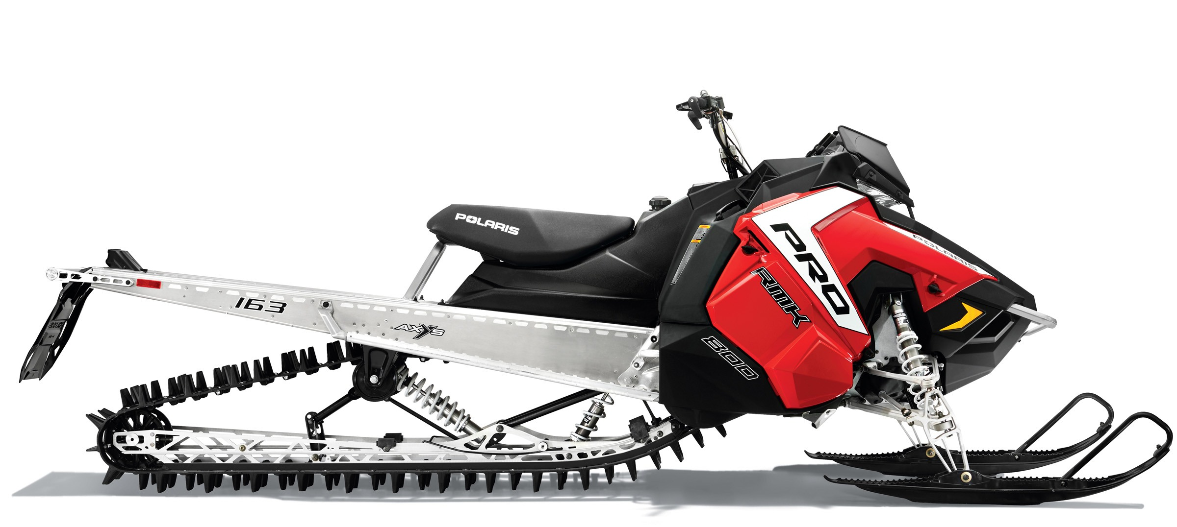 2016 Polaris 800 Pro-RMK 163 SnowCheck Select in Shawano, Wisconsin