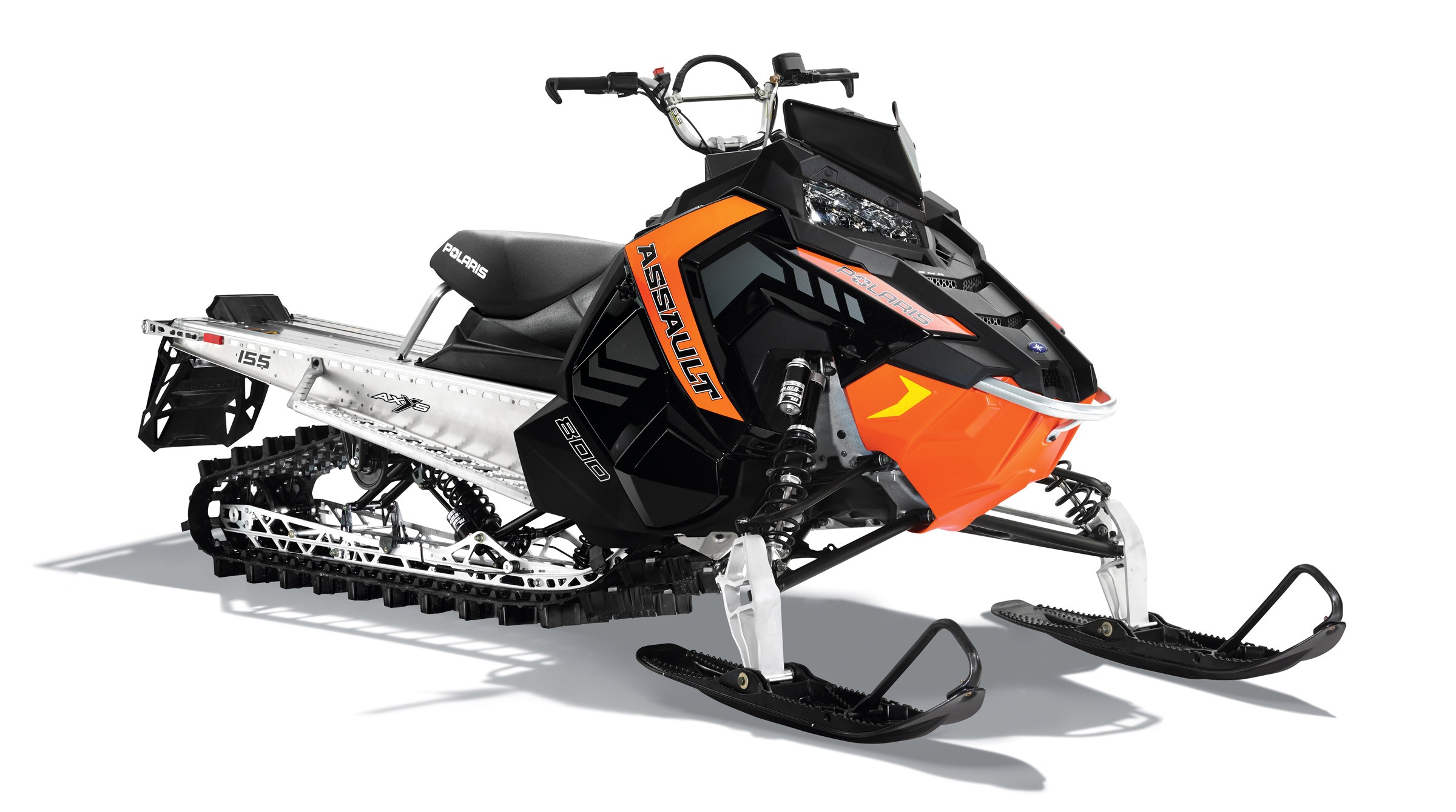 2016 Polaris 800 RMK Assault 155 Powder in Lake Mills, Iowa - Photo 1