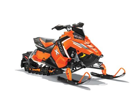 2016 Polaris 800 RUSH PRO-X SnowCheck Select in Lake Mills, Iowa