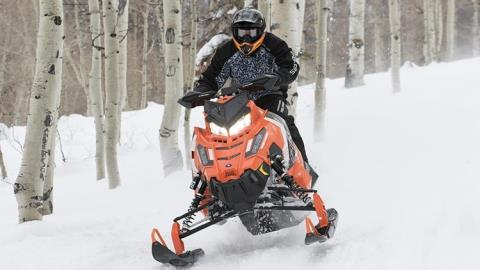 2016 Polaris 800 RUSH PRO-X SnowCheck Select in Shawano, Wisconsin