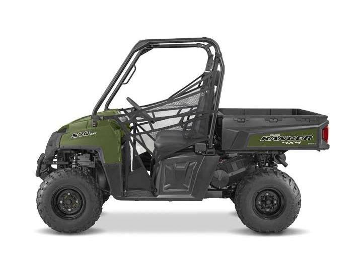2016 Polaris Ranger570 Full Size in Lake Mills, Iowa - Photo 2