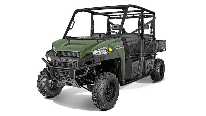 2016 Polaris Ranger Crew Diesel in Pierceton, Indiana