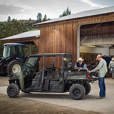 2016 Polaris Ranger Crew XP 570-6 in Ironwood, Michigan