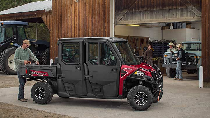 2016 Polaris Ranger Crew XP 900-5 EPS in Ferrisburg, Vermont