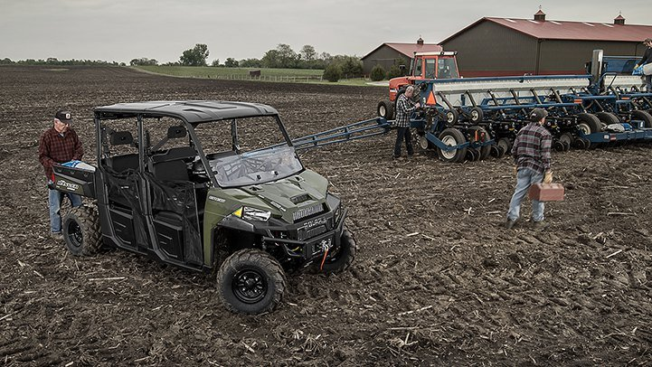 2016 Polaris Ranger Crew XP 900-6 in Lake Mills, Iowa - Photo 3