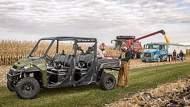 2016 Polaris Ranger Crew XP 900-6 in Lake Mills, Iowa - Photo 4
