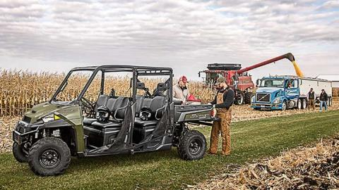 2016 Polaris Ranger Crew XP 900-6 in Kansas City, Kansas - Photo 4