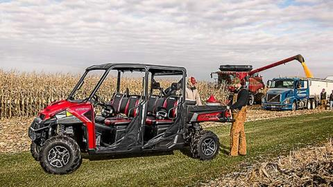 2016 Polaris Ranger Crew XP 900-6 EPS in High Point, North Carolina