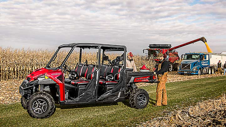 2016 Polaris Ranger Crew XP 900-6 EPS in Pierceton, Indiana