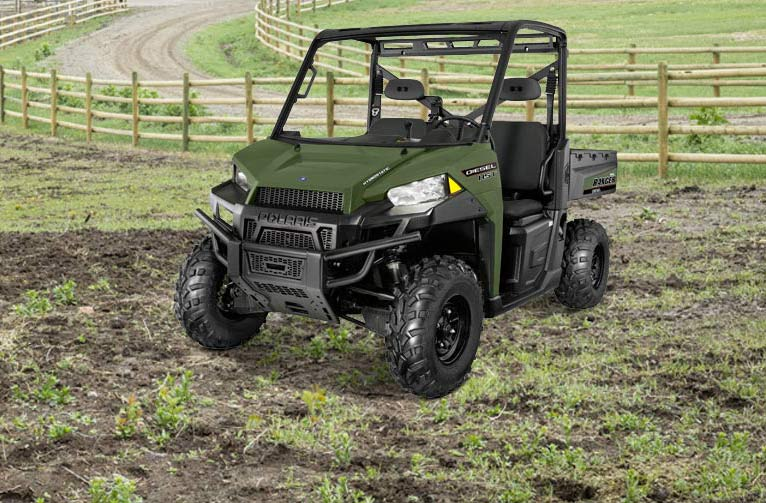 2016 Polaris Ranger Diesel HST in Lake Mills, Iowa - Photo 4
