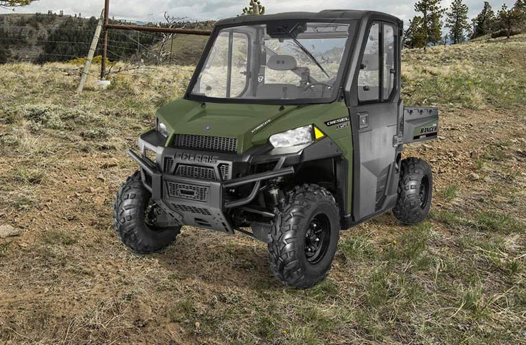 2016 Polaris Ranger Diesel HST Deluxe in Greer, South Carolina