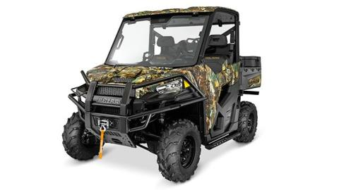 2016 Polaris Ranger XP 900 EPS Hunter Deluxe Edition in Cambridge, Ohio