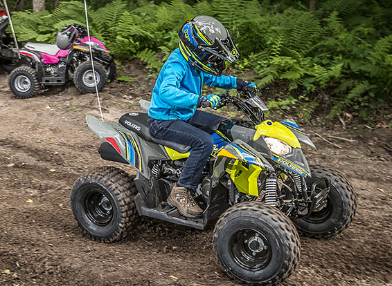 2017 Polaris Outlaw 110 in Corona, California