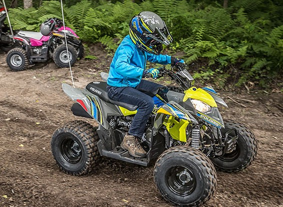 2017 Polaris Outlaw 110 in Redding, California