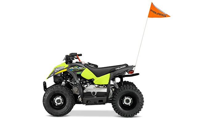 2017 Polaris Outlaw 50 in Hermitage, Pennsylvania
