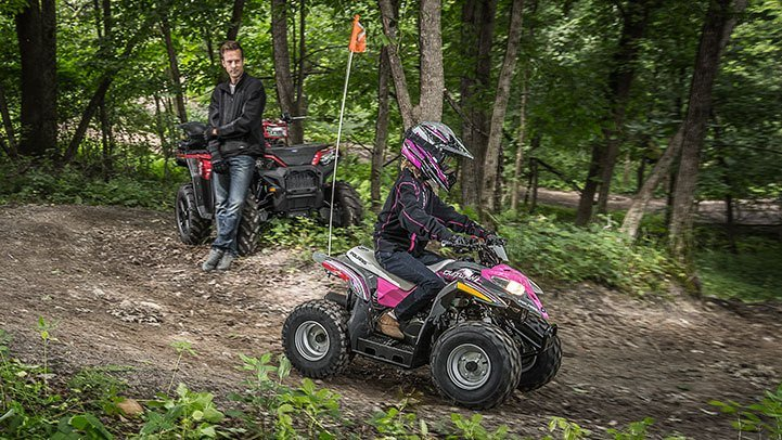2017 Polaris Outlaw 50 in Utica, New York