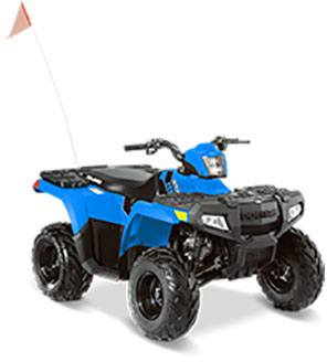 2017 Polaris Sportsman 110 EFI in Hancock, Wisconsin