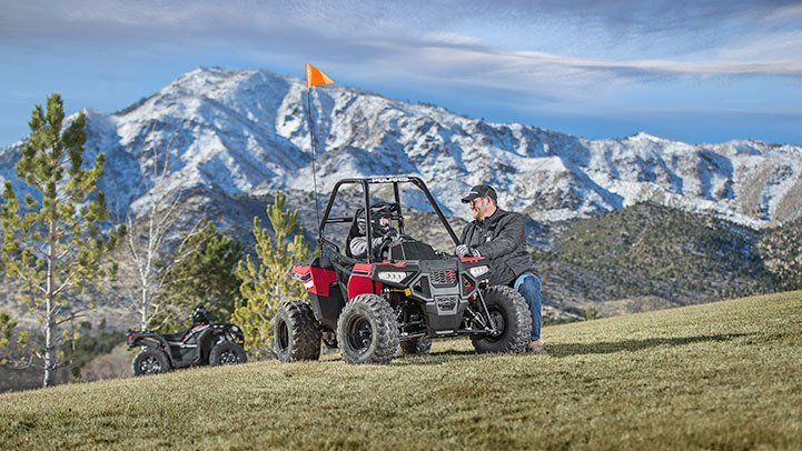 2017 Polaris Ace 150 EFI 6