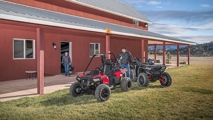 2017 Polaris Ace 150 EFI 4