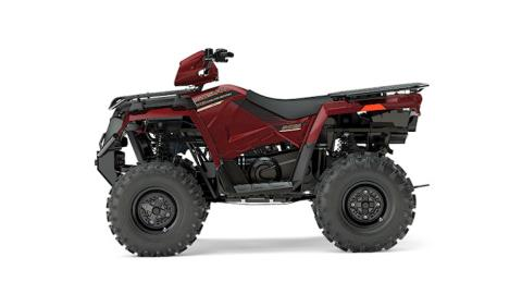 2017 Polaris Sportsman 570 EPS Utility Edition in Hancock, Wisconsin