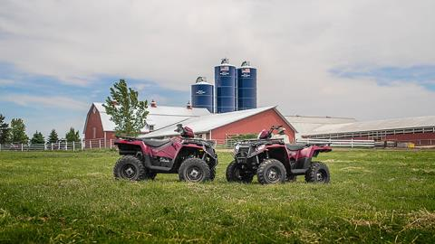 2017 Polaris Sportsman 570 EPS Utility Edition in Elkhorn, Wisconsin