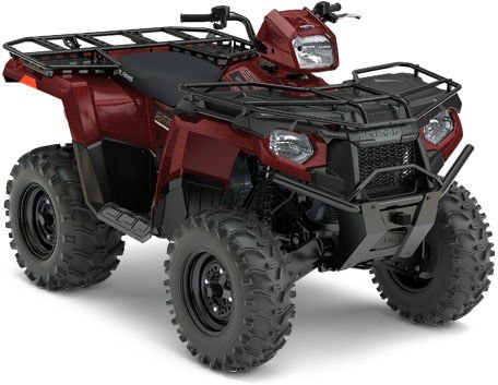 2017 Polaris Sportsman 570 EPS Utility Edition in Marietta, Ohio