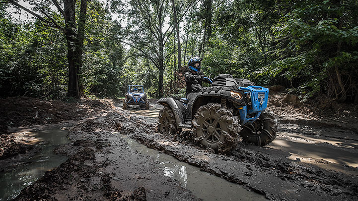 2017 Polaris Sportsman 850 High Lifter Edition in Brighton, Michigan