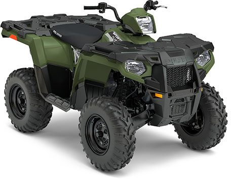 2017 Polaris Sportsman 450 H.O. 1