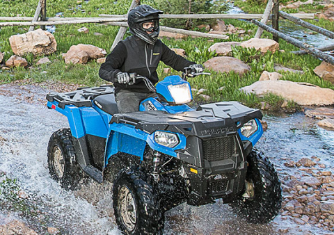 2017 Polaris Sportsman 450 H.O. in Auburn, California