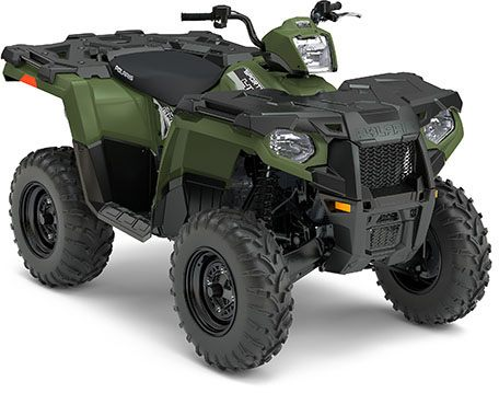 2017 Polaris Sportsman 450 H.O. EPS in Elkhorn, Wisconsin