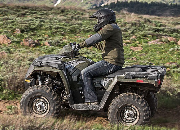 2017 Polaris Sportsman 450 H.O. EPS in Utica, New York