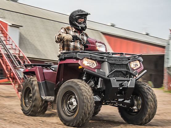2017 Polaris Sportsman 450 H.O. Utility Edition in Traverse City, Michigan