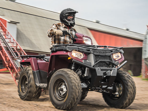 2017 Polaris Sportsman 450 H.O. Utility Edition in Rushford, Minnesota