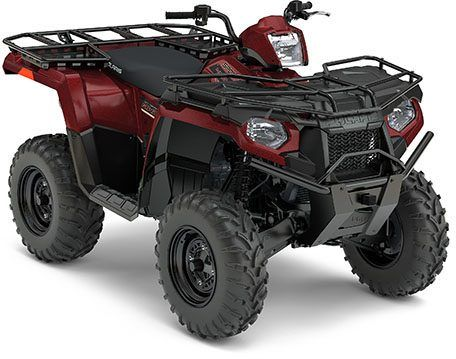 2017 Polaris Sportsman 450 H.O. Utility Edition in Hancock, Wisconsin