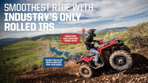 2017 Polaris Sportsman 570 EPS in Barre, Massachusetts