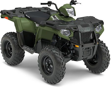 2017 Polaris Sportsman 570 EPS in Baldwin, Michigan