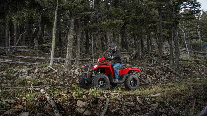 2017 Polaris Sportsman 570 EPS Camo in Munising, Michigan