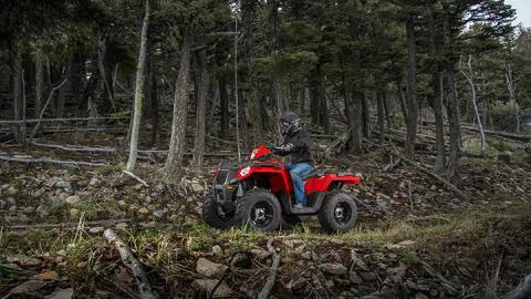 2017 Polaris Sportsman 570 EPS Camo in Dimondale, Michigan