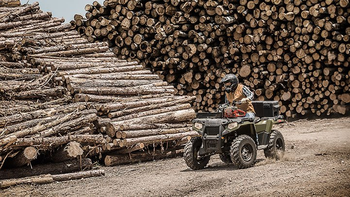 2017 Polaris Sportsman 570 EPS Camo in Adams, Massachusetts