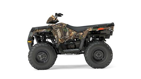 2017 Polaris Sportsman 570 EPS Camo in Mount Pleasant, Michigan