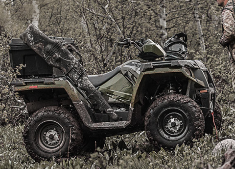 2017 Polaris Sportsman 570 EPS Camo in Newport, Maine