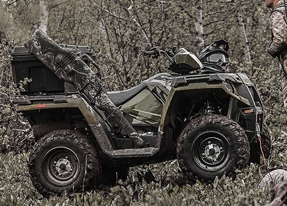 2017 Polaris Sportsman 570 EPS Camo in Jamestown, New York