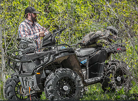 2017 Polaris Sportsman 570 SP Hunter Edition in Dalton, Georgia