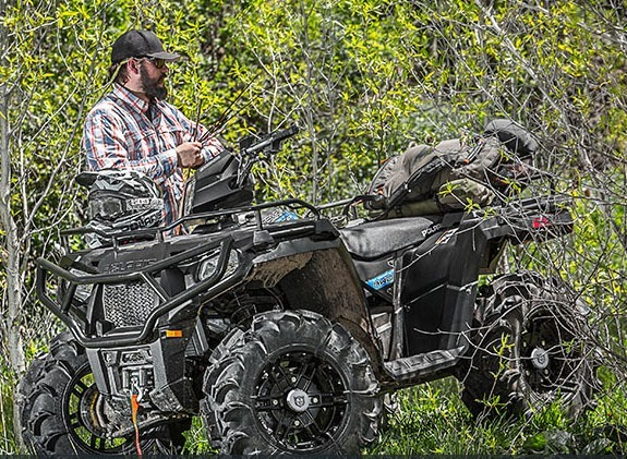 2017 Polaris Sportsman 570 SP Hunter Edition in Gunnison, Colorado