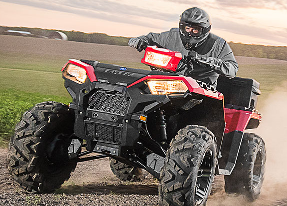 2017 Polaris Sportsman 850 in Rushford, Minnesota