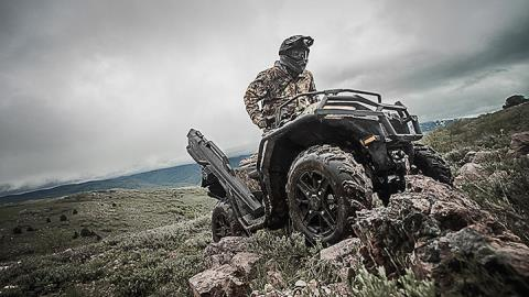 2017 Polaris Sportsman 850 SP Polaris Pursuit Camo in Little Falls, New York