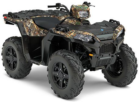 2017 Polaris Sportsman 850 SP Polaris Pursuit Camo in Durant, Oklahoma