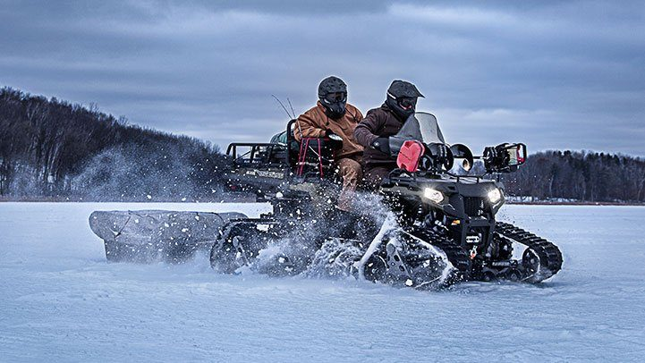 2017 Polaris Sportsman Big Boss 6x6 570 EPS in Kieler, Wisconsin