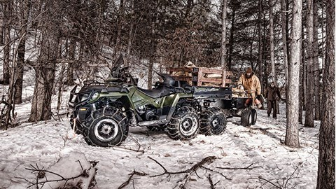 2017 Polaris Sportsman Big Boss 6x6 570 EPS in Bolivar, Missouri
